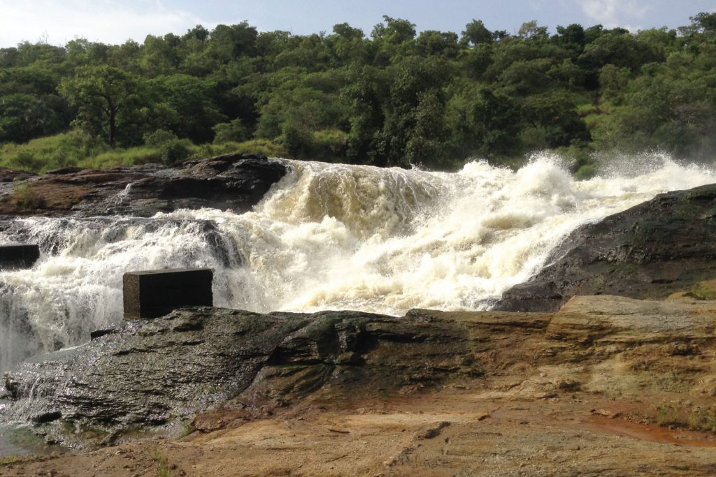 Top of the falls-Murchison Falls National Park