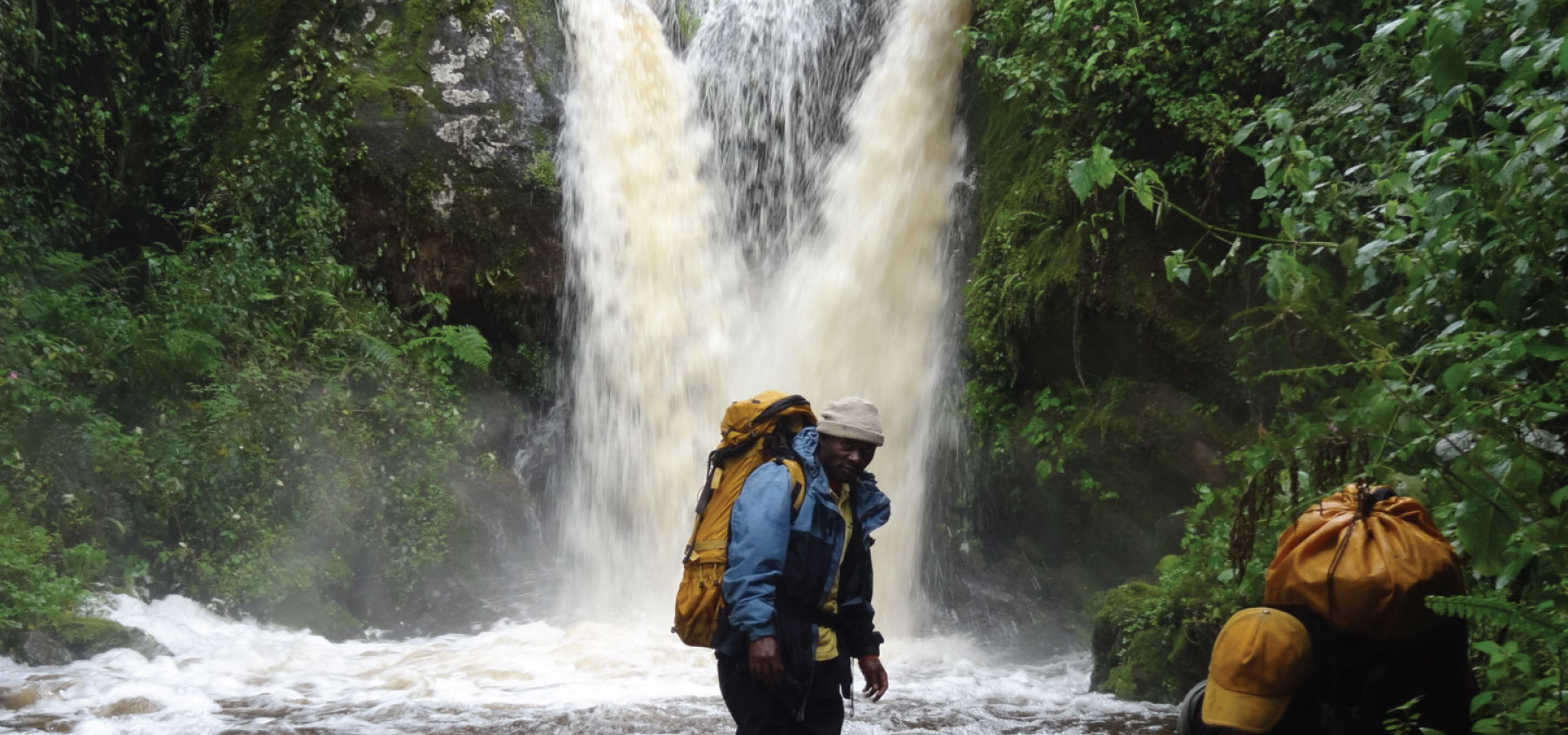 Water Falls in the Rwenzori